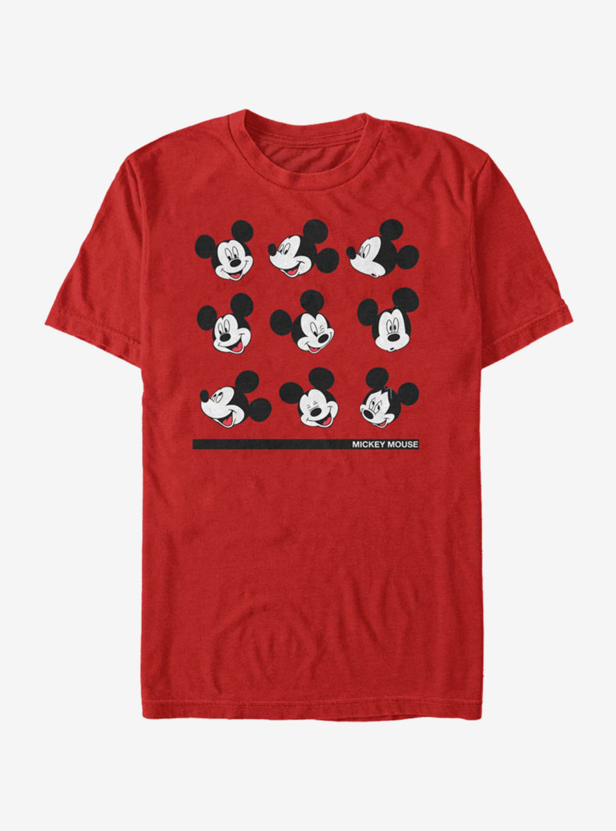 Disney Mickey Mouse Expressions T-Shirt