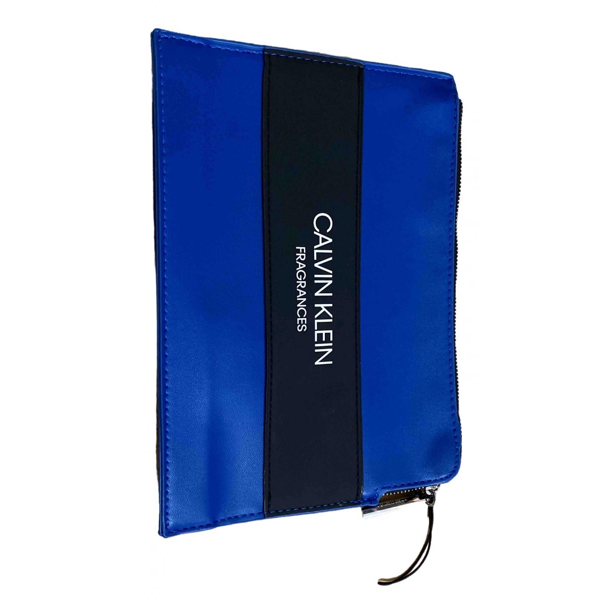 Calvin Klein - Pochette   pour femme - bleu