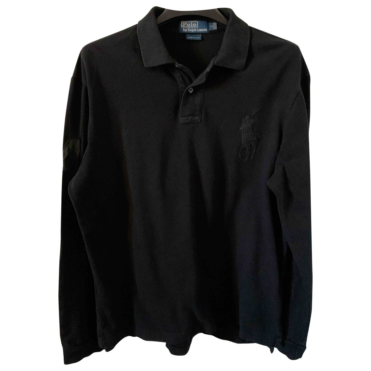 Polo Ralph Lauren Polo Rugby manches longues Poloshirts in  Schwarz Baumwolle