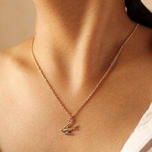 1pc Swallow Pendant Necklace