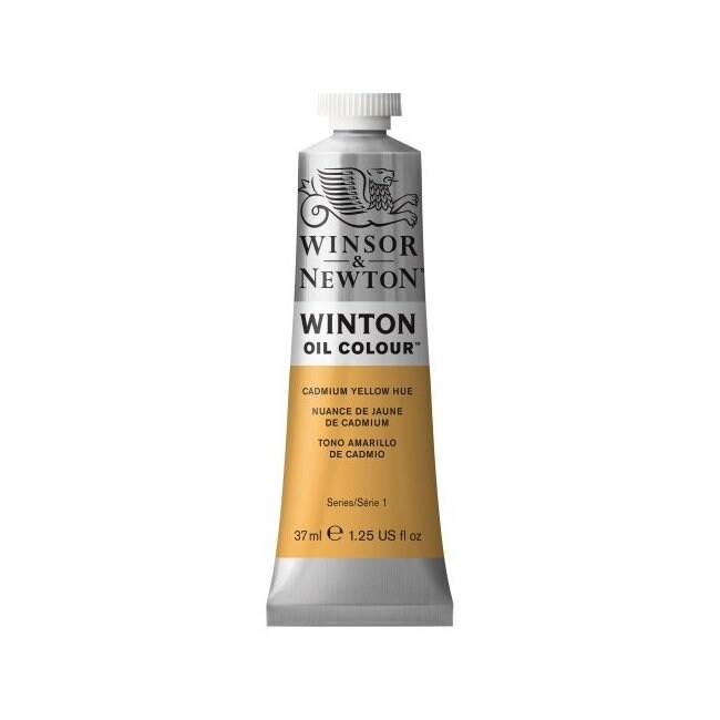 Winsor & newton / colart 1414109 winton oil colour 37ml cadmium yellow hue (YELLOW)