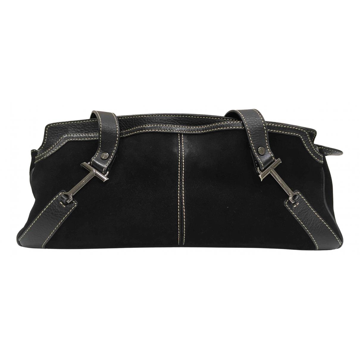 Tod's N Black Suede handbag for Women N
