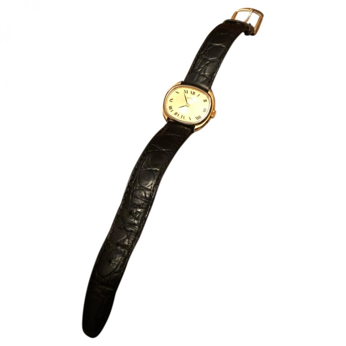 Eberhard \N Black Steel watch for Women \N