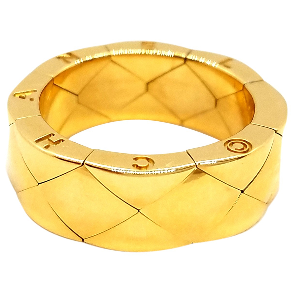 Chanel \N Gold Yellow gold ring for Women 51 EU