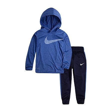 Nike Toddler Boys 2-pc. Pant Set, 4t , Blue