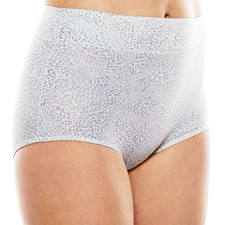 Warner's No Pinching. No Problems. Tailored Microfiber Brief Panty 5738, 9 , Blue
