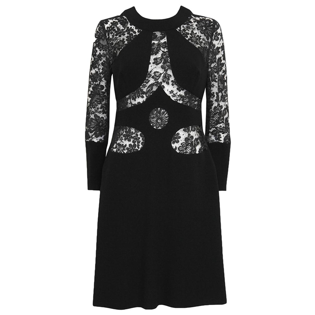 Louis Feraud \N Black Lace dress for Women S International