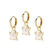3pcs Cartoon Ghost Drop Earrings