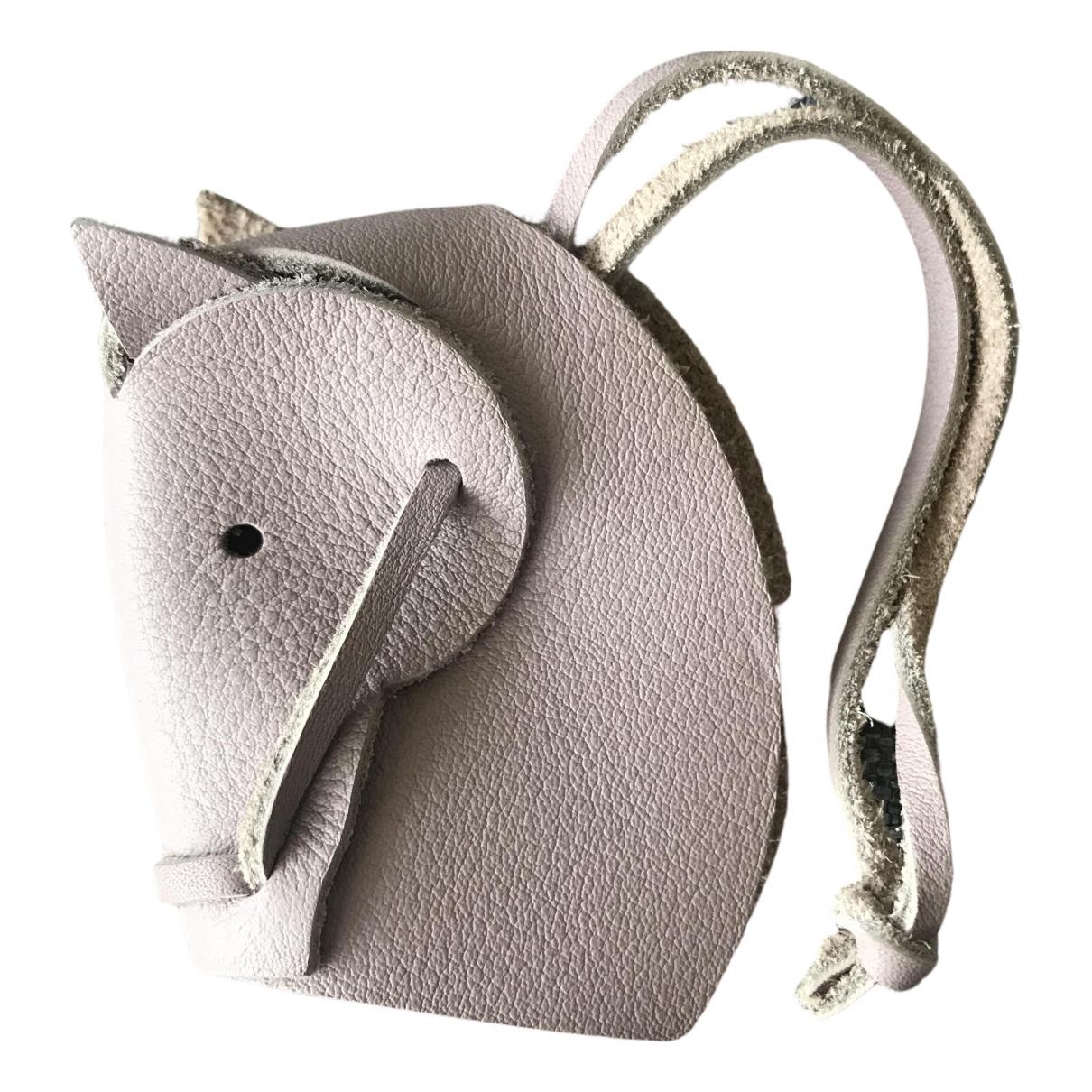 Hermes \N Taschenschmuck in Leder