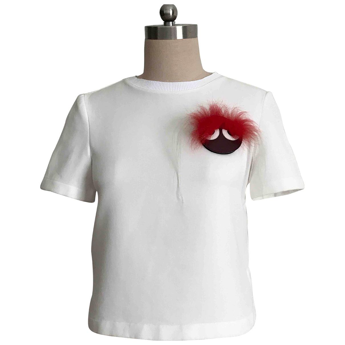 Fendi \N White Cotton  top for Women S International
