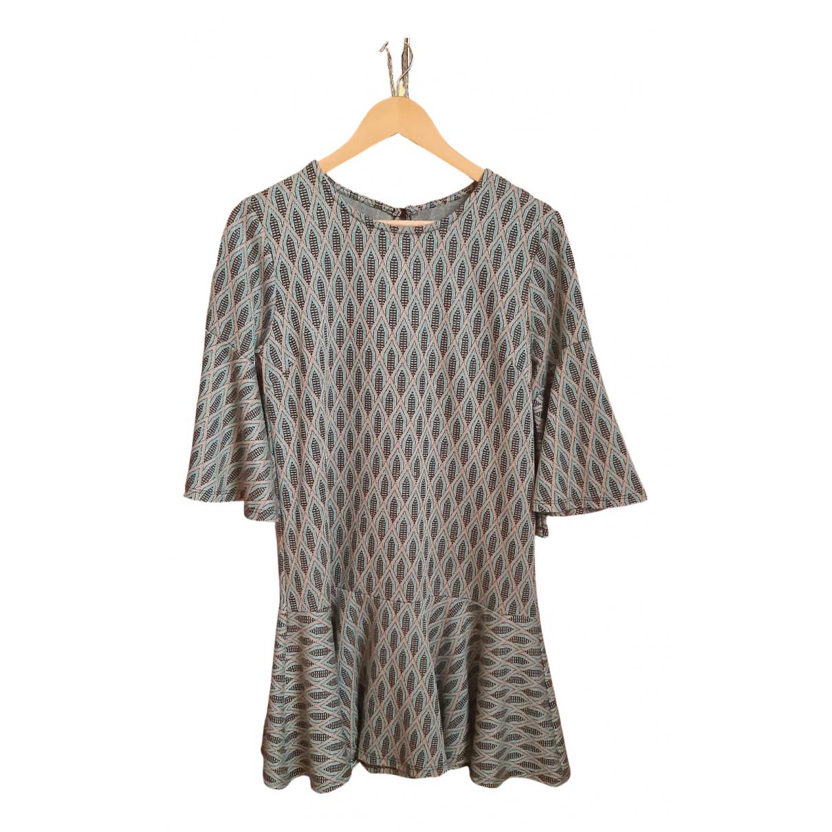 Non Signé / Unsigned N Blue Cotton - elasthane dress for Women L International