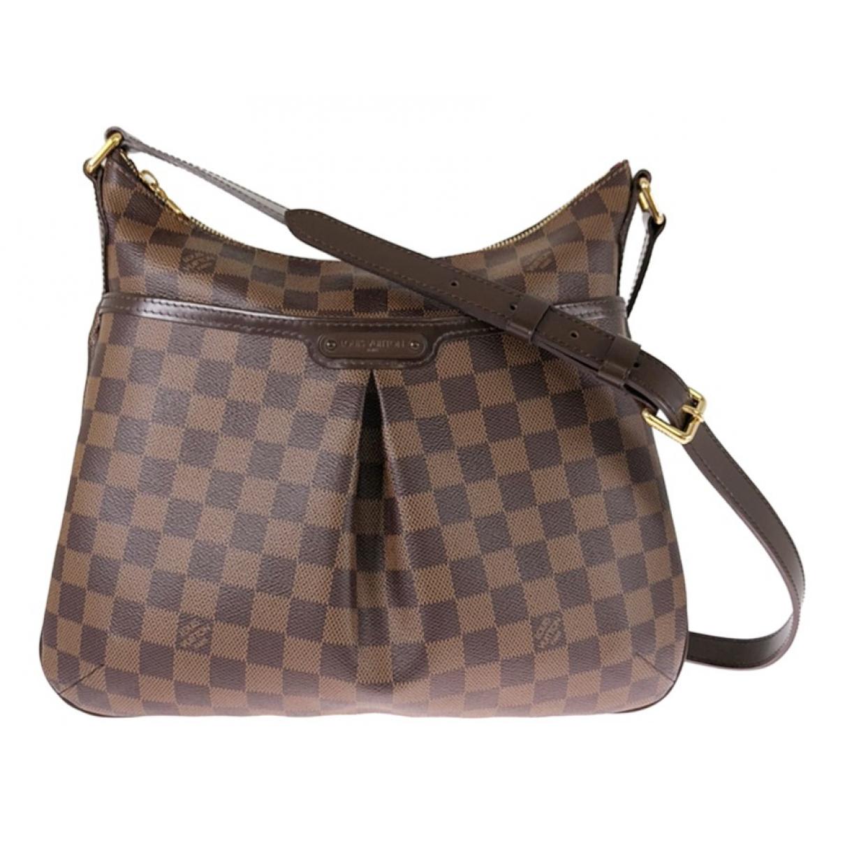 Louis Vuitton Bloomsbury Handtasche in  Braun Leinen