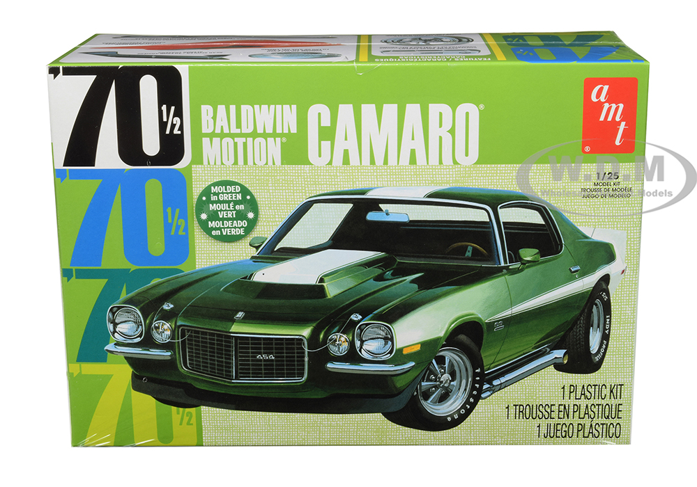 Skill 2 Model Kit 1970 1/2 Baldwin Motion Chevrolet Camaro 1/25 Scale Model by AMT