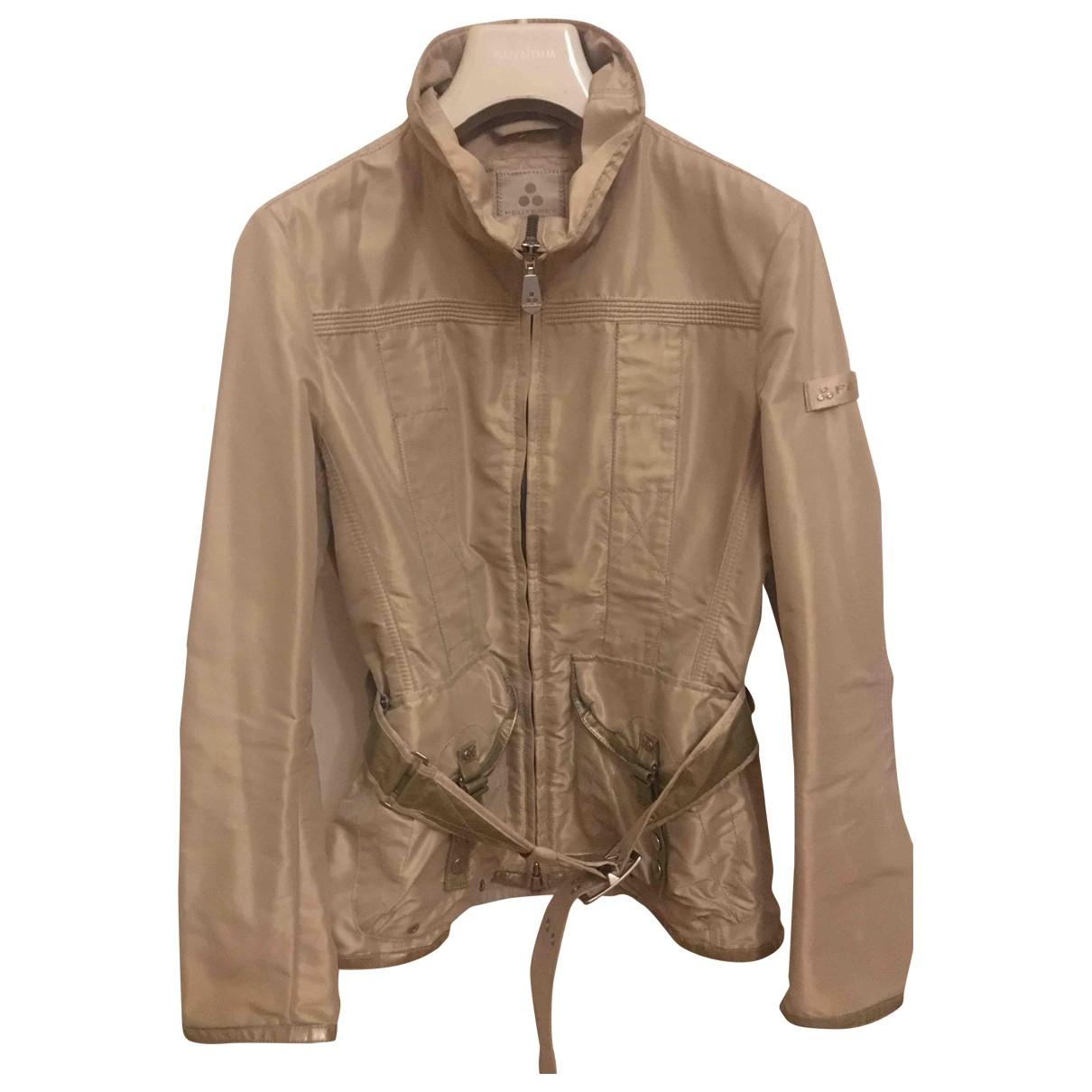 Peuterey \N Gold Cotton jacket for Women 42 IT