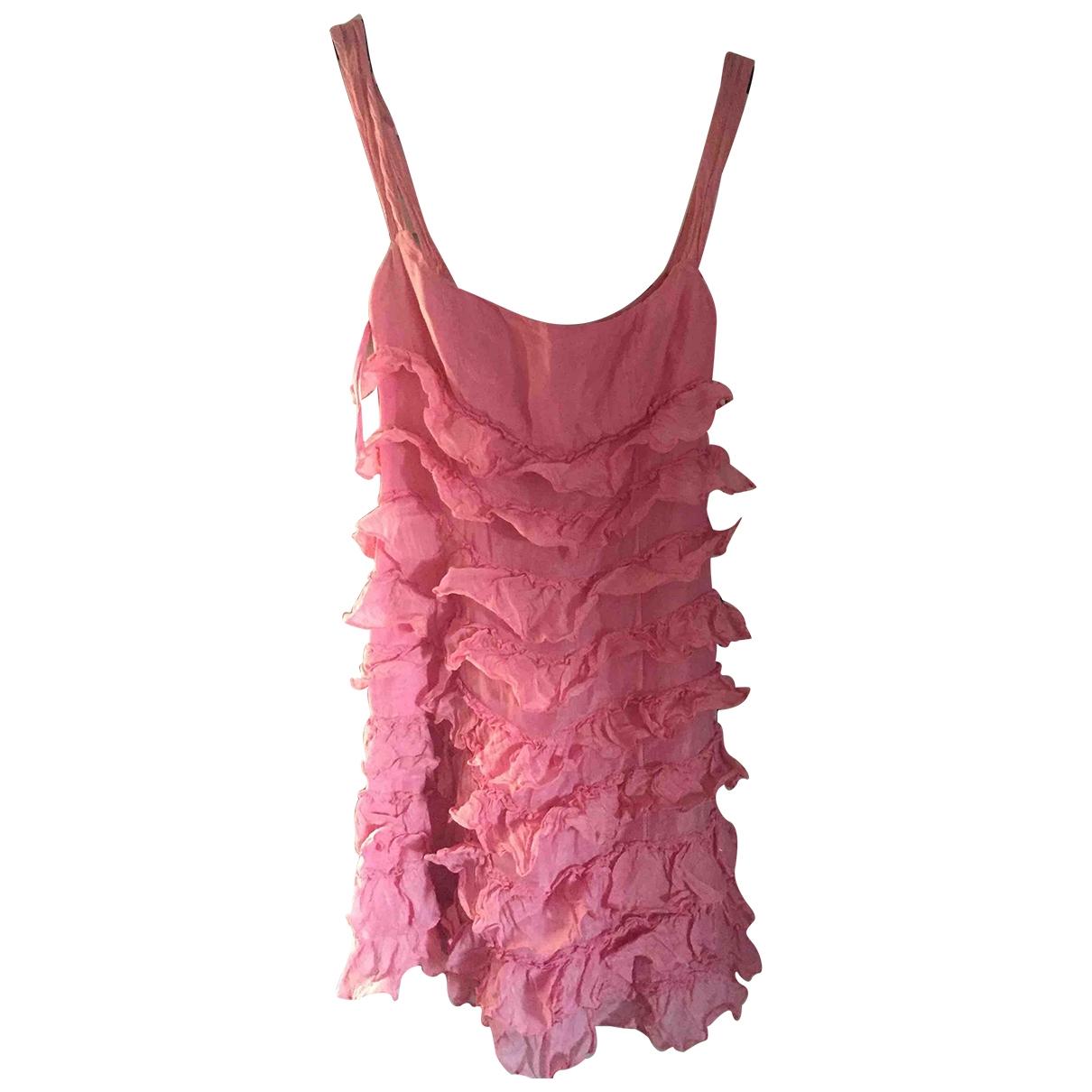 Vestido midi de Seda Ralph Lauren Purple Label
