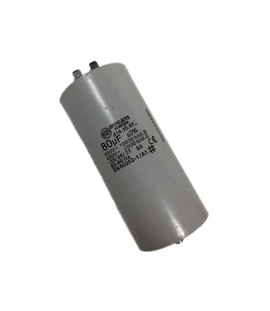 Ducati Energia 80μF Polypropylene Capacitor PP 450V ac ±5% Tolerance Plug In 4.16.10 Series