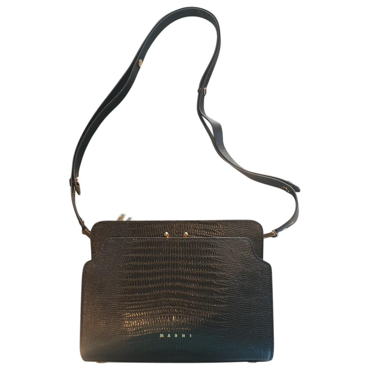 Marni \N Black Crocodile handbag for Women \N