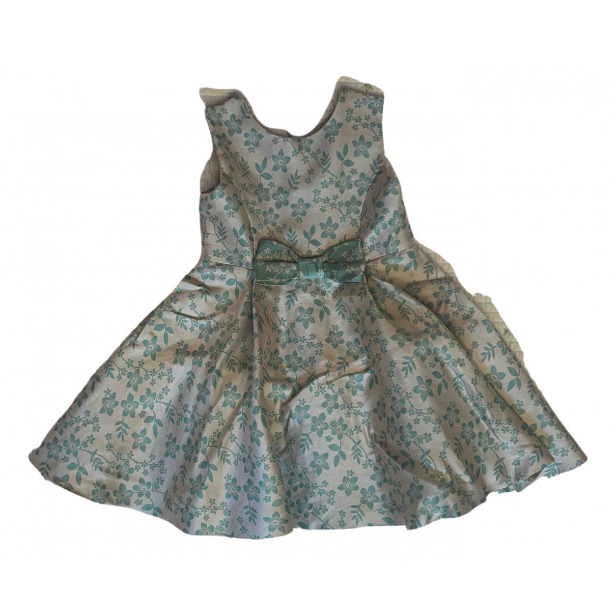 La Stupenderia \N Kleid in  Gruen Seide