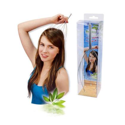 Scalp & Head Manual Massager, Scratcher & Stress Reliever Tool, 9.5