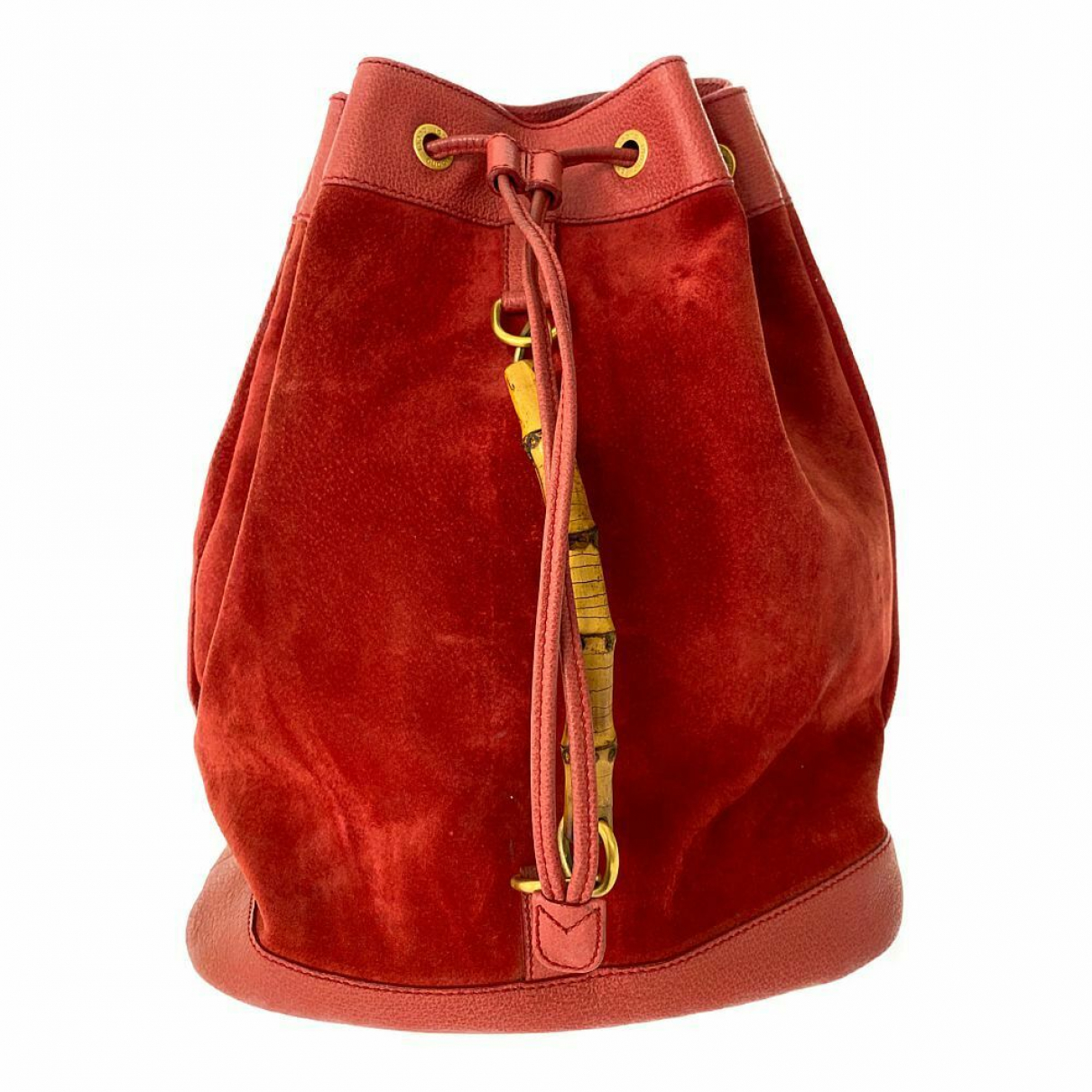 Gucci \N Red Suede backpack for Women \N