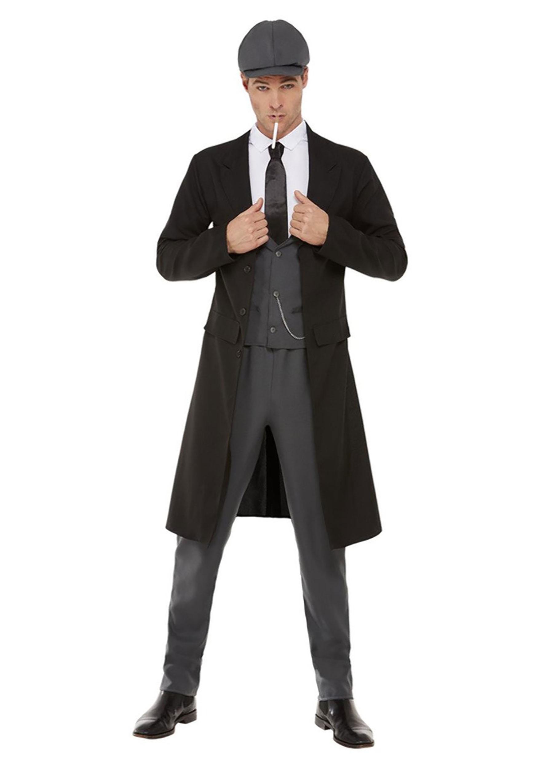 Blinding Gangster Costume for Men