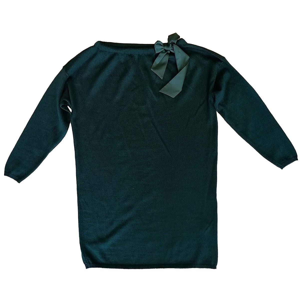 Il Gufo - Robe    pour enfant - vert