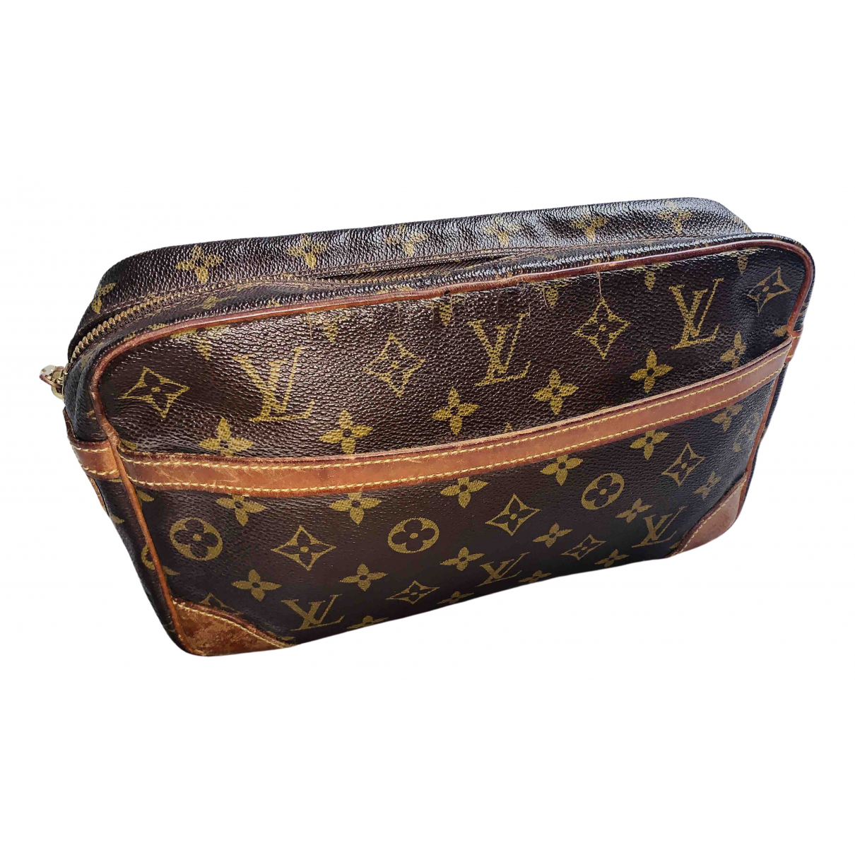 Louis Vuitton Trousse de Toilette  Brown Cloth Travel bag for Women \N
