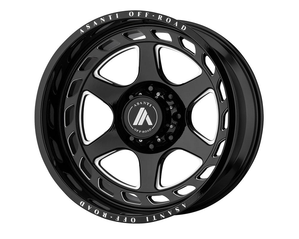 Asanti AB816-201088GB18N Off-Road AB816 Anvil Wheel 20x10 8x8x180 -18mm Gloss Black Milled