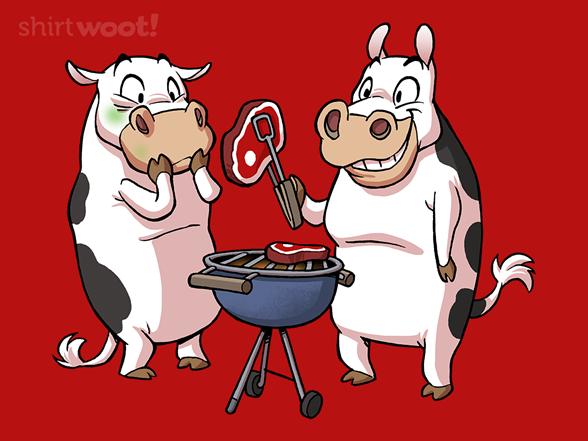 Bbq Cow T Shirt