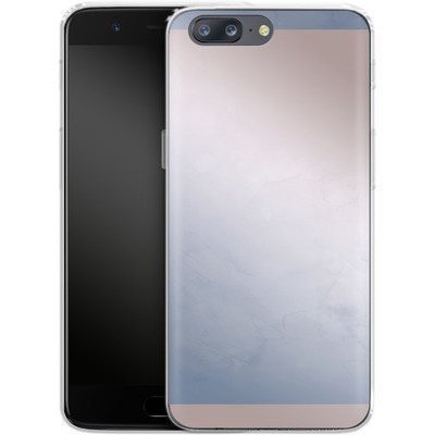 OnePlus 5 Silikon Handyhuelle - Serenity Rose Quartz Geometry von Emanuela Carratoni