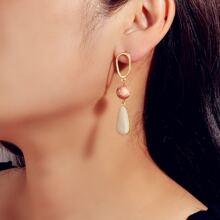 Hollow Out Geometric Drop Earrings