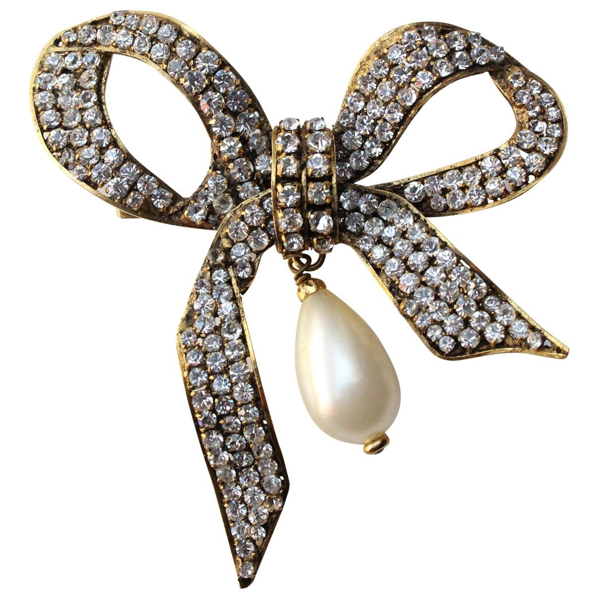Chanel - Broche Baroque pour femme en metal