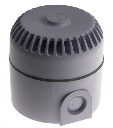 Fulleon Roshni White 32 Tone Electronic Sounder ,9 → 28 V dc, 103dB at 1 Metre, IP65