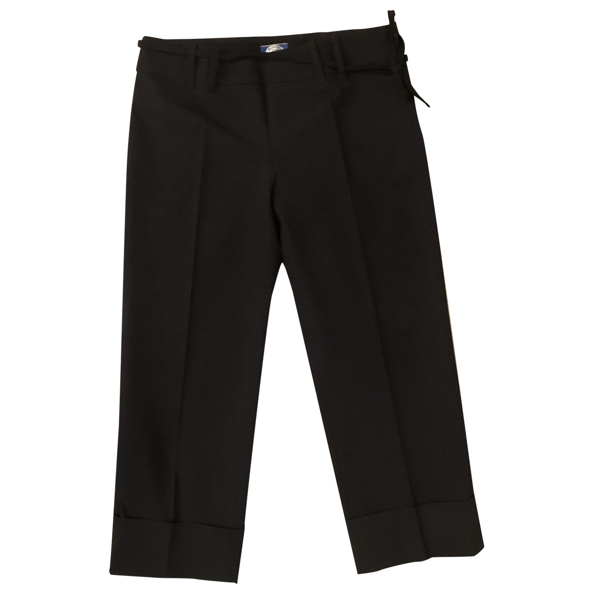 Pantalon en Poliester Negro Blumarine