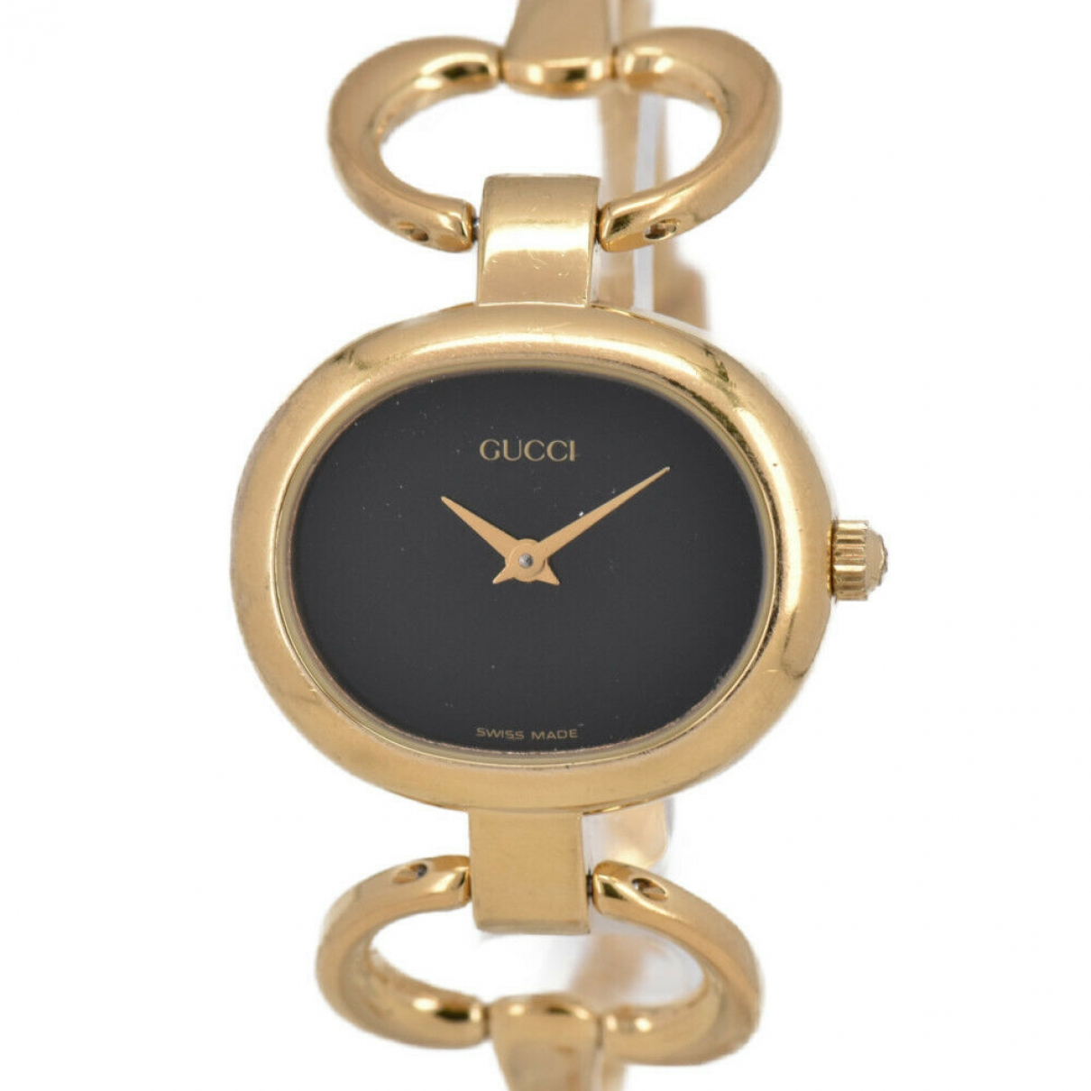 Gucci \N Black Gold plated watch for Women \N