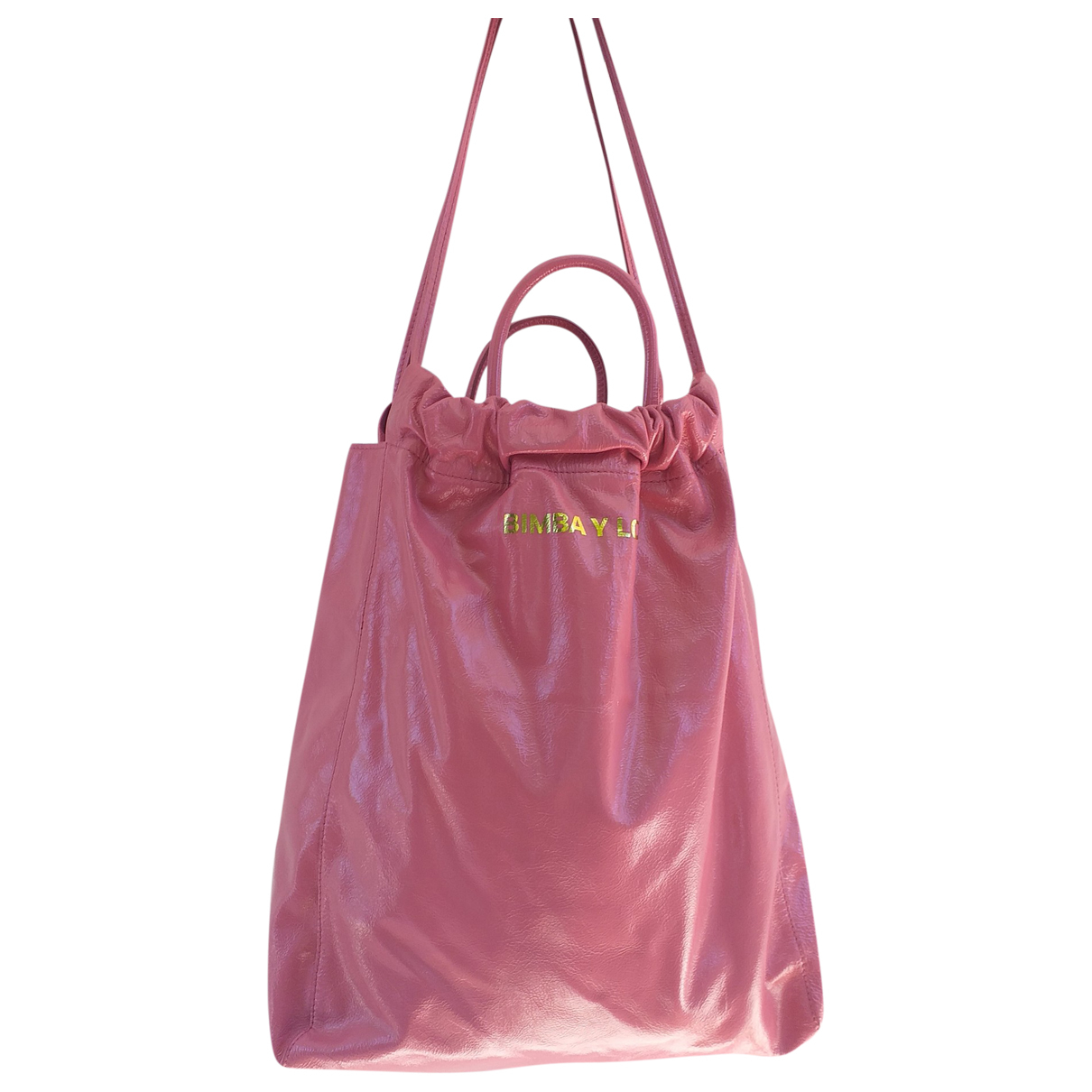 Bimba Y Lola \N Pink Leather handbag for Women \N