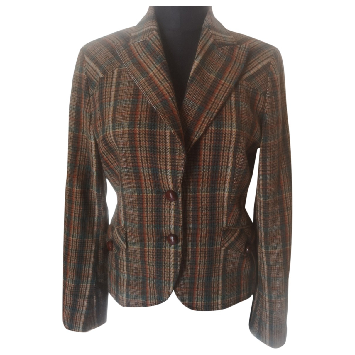 Max & Co \N Multicolour Wool jacket for Women 46 IT