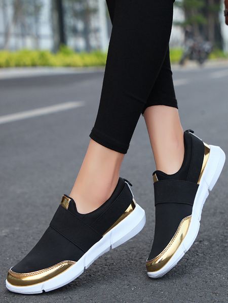 Yoins Casual Round Toe Sneakers