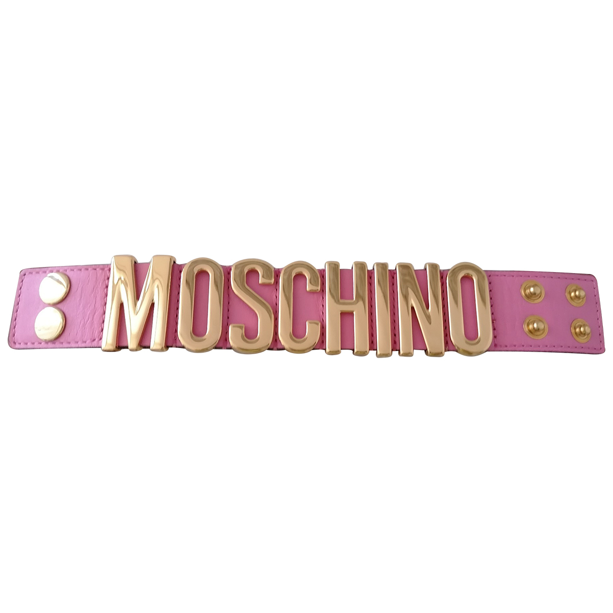 Moschino Cheap And Chic \N Pink Leather bracelet for Women \N