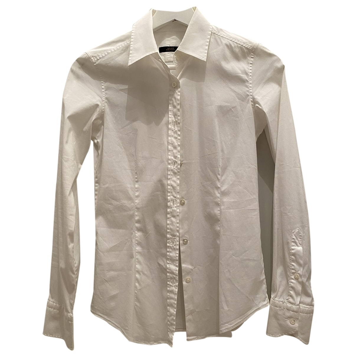Mauro Grifoni \N White Cotton  top for Women 40 IT