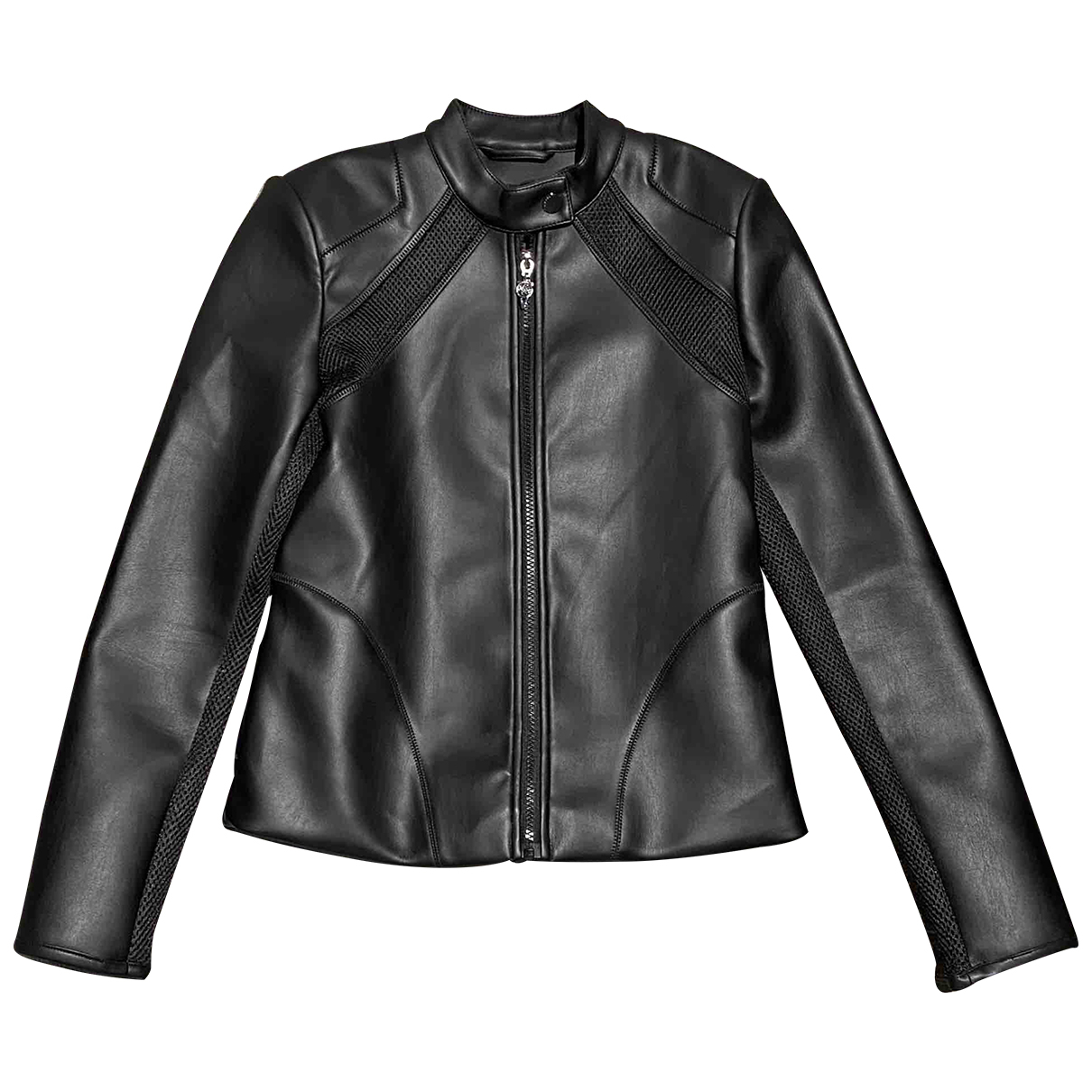 Guess \N Black Leather jacket for Women S International