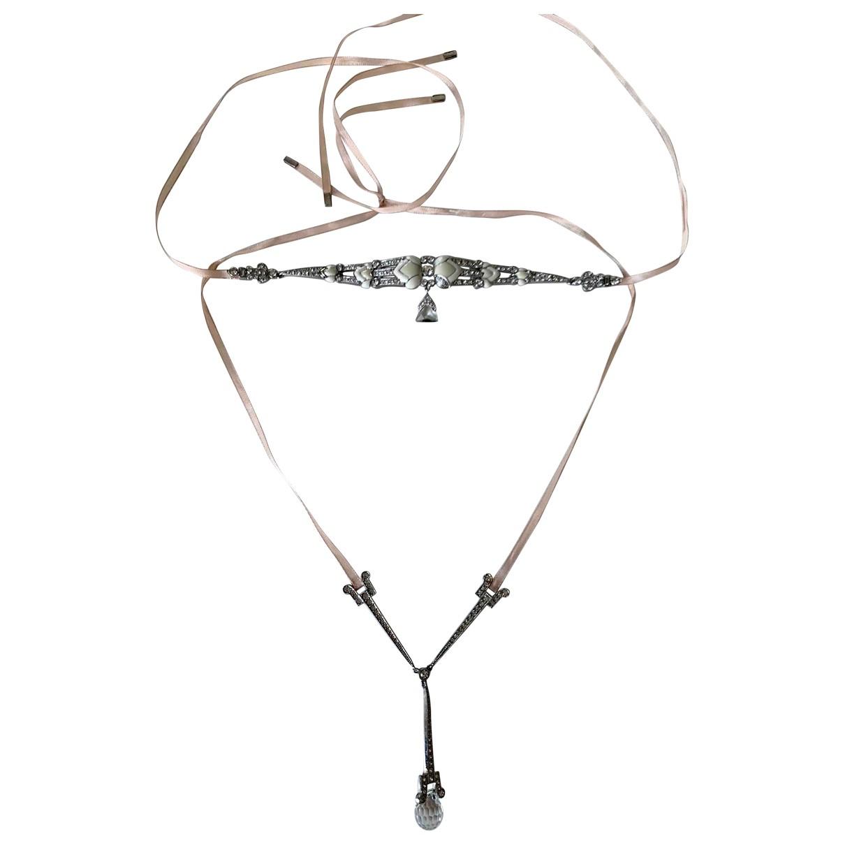 Dior - Collier   pour femme en metal - rose