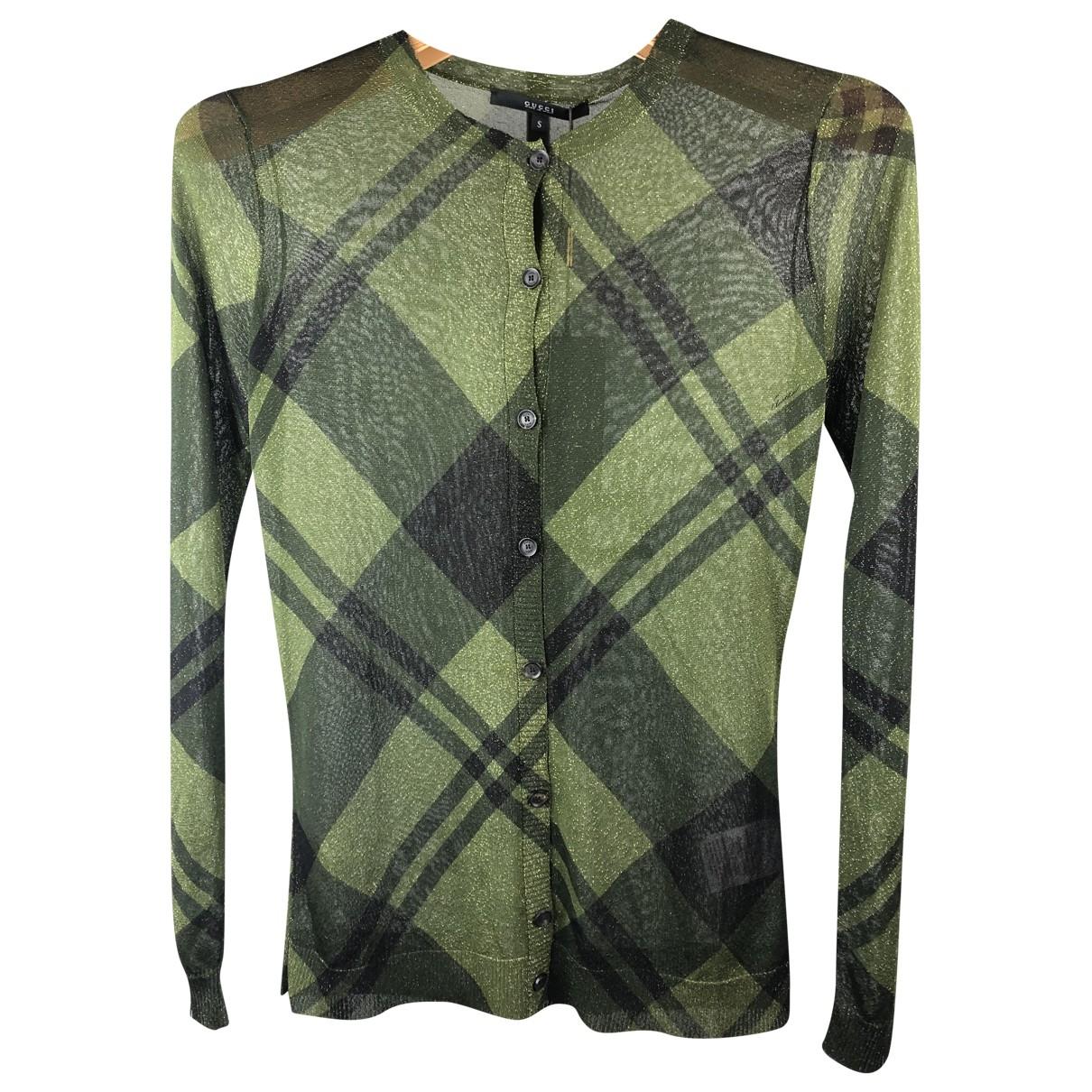 Gucci - Pull   pour femme - vert