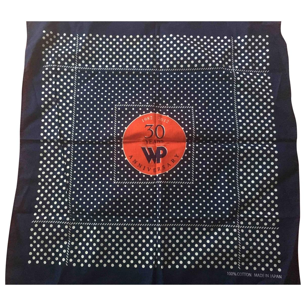 Woolrich \N Blue Cotton scarf for Women \N