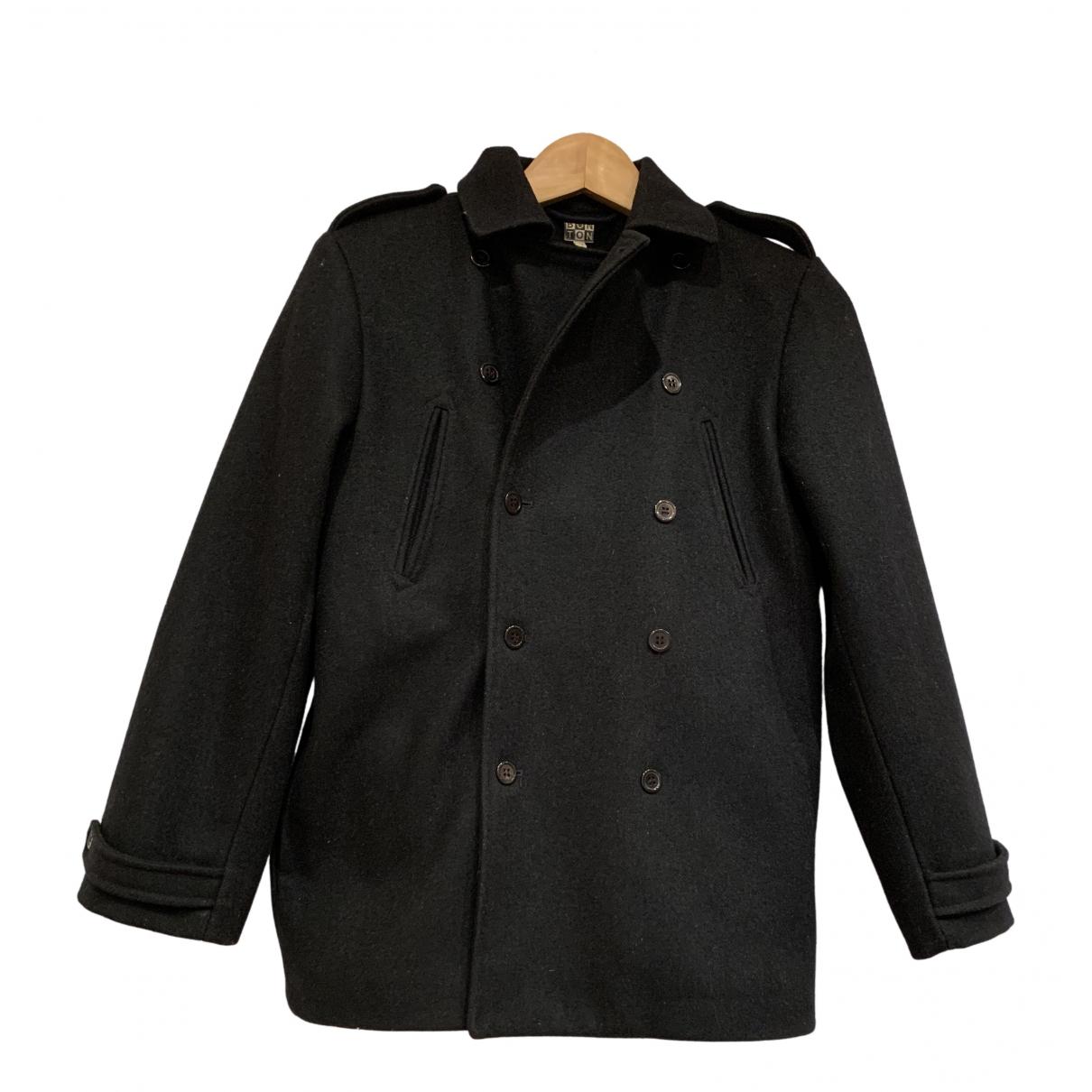 Bonton - Blousons.Manteaux   pour enfant en laine - bleu