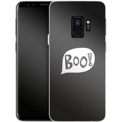 Samsung Galaxy S9 Silikon Handyhuelle - BOO! von caseable Designs