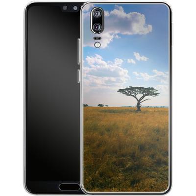 Huawei P20 Silikon Handyhuelle - Tanzanian Savanna von Omid Scheybani