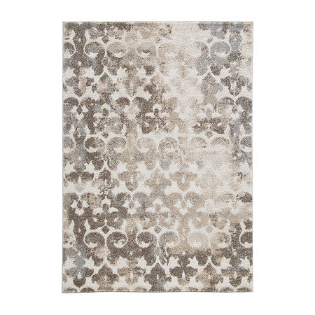 Signature Design by Ashley Jiro Rug, One Size , Brown