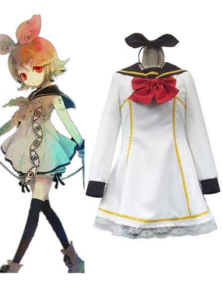 Milanoo Halloween Vocaloid Kagamine Rin Halloween Cosplay Costume