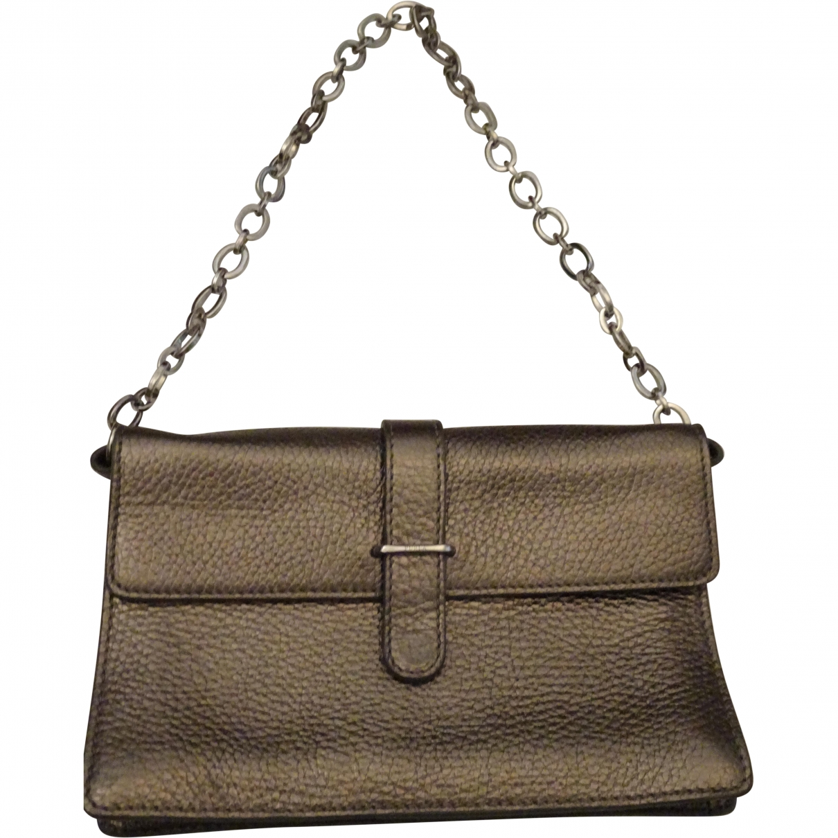 Furla \N Metallic Leather handbag for Women \N